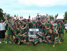 Eagles claim back to back Premierships