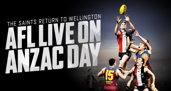 ANZAC DAY:  A big week of footy