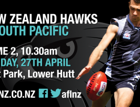 NZ Hawks to defend South Pacific series record