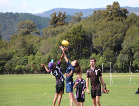 AFL KiwiKick Tournament a Success in Hutt Valley