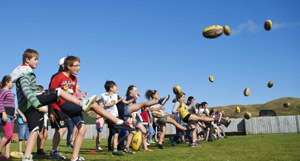 Sport Wellington supports AFLNZ success
