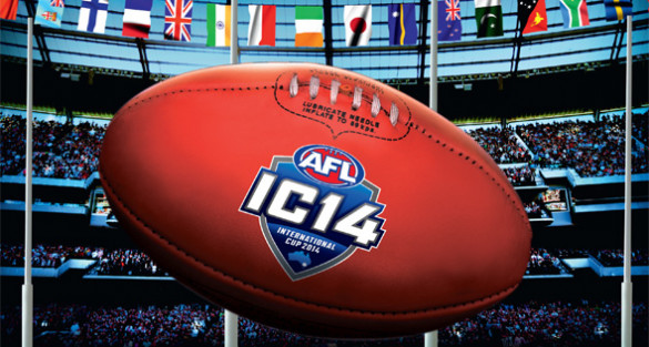 Live streaming AFL International Cup matches