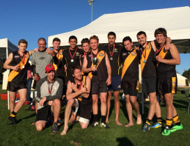 Tigers roar in AAFL 9 a side competition