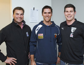AFL Legend Simon Black meets NZ Hawks