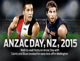 Saints to take on Carlton in Wellington