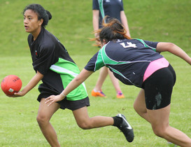 Tough competition at Female North Island Champs