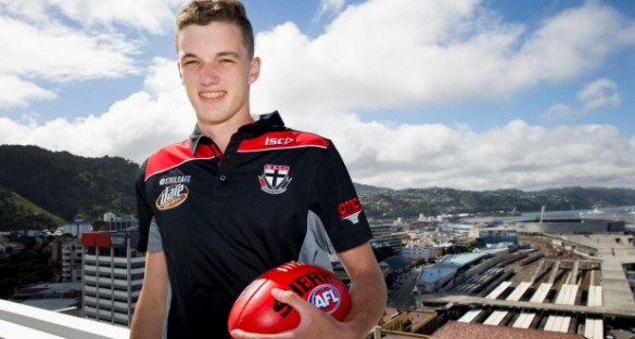 Christchurch teenager signs with St Kilda