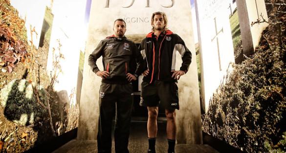 Anzac spirit resonates with Saints, Blues in NZ