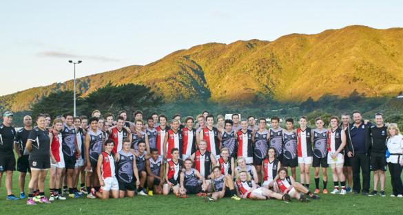 U16 NZ Hawks vs U16 AFL South East Peninsula Saints
