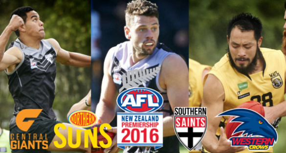 AFL New Zealand Team of the week