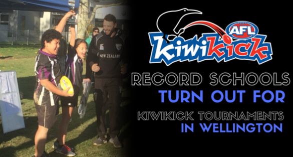 Record number of Schools turn out for Wellington KiwiKick Tournaments