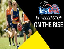 AFL KiwiKick in Wellington on the rise