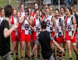 Kiwi Moana Hope first ever female to kick 100 goals in a season