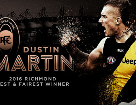 Martin wins Tigers best and fairest