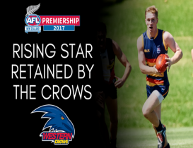 Rising Star retained by the Crows