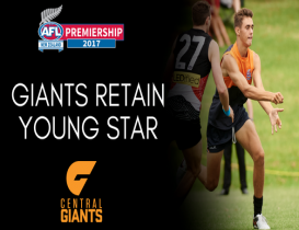 Giants retain Young Star
