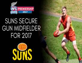 Suns secure gun midfielder for 2017