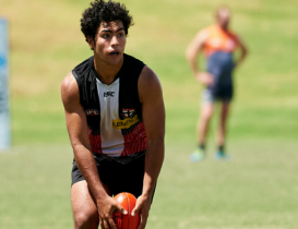 Young Saints forward impresses to win Round 2 Rising Star