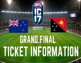 2017 International Cup ticket information