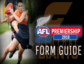 2018 AFLNZ Premiership Form Guide: Central Giants
