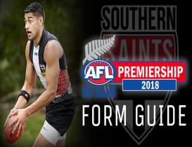 2018 AFLNZ Premiership Form Guide: Southern Saints