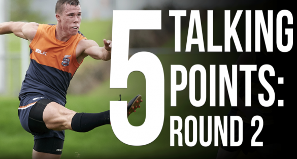 5 talking points: Round 2