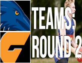 Round 2 Teams: Crows vs Giants