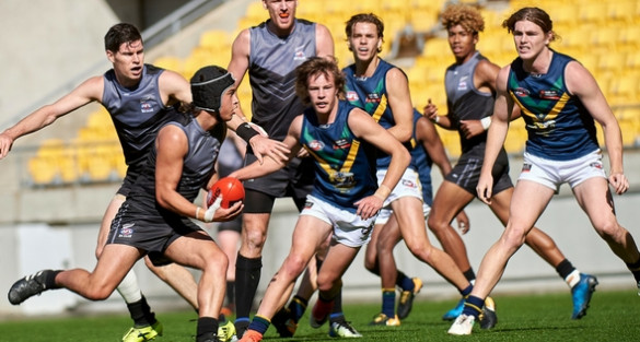 NZ shine early against classy AFL Academy