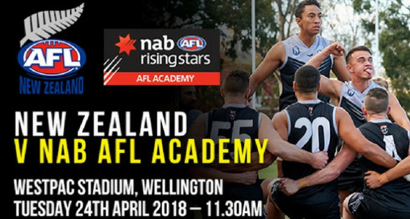 2018 AFL Academy Squad to play New Zealand