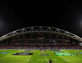 North Harbour Stadium becomes international sporting melting pot