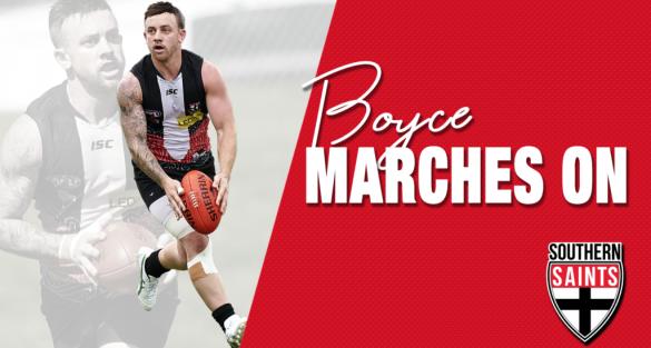Boyce to Captain Saints for record fourth season