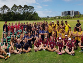 Green Bay High undefeated at Female AFL Cup