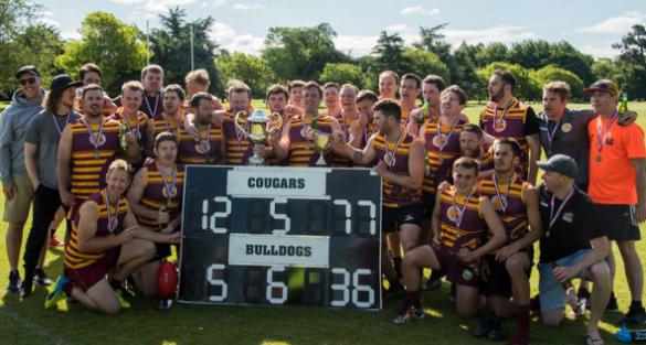 University Cougars crowned Premiers in Canterbury AFL