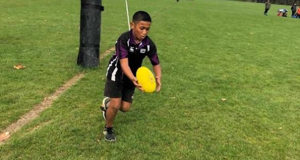 Wellington KiwiKick tournament sees skills on display