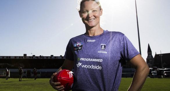 Former Olympian and AFLW Player to take the helm at the Bulldogs