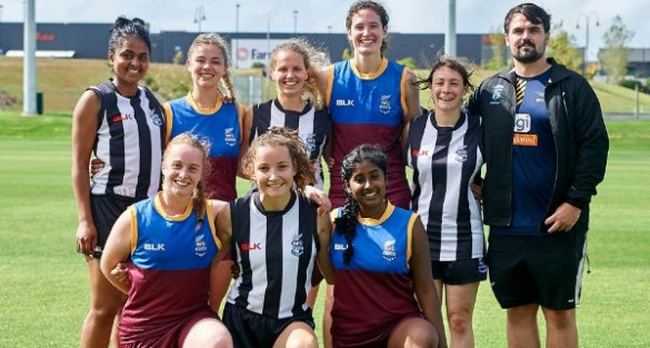 Female Footy Frenzy set for kick off