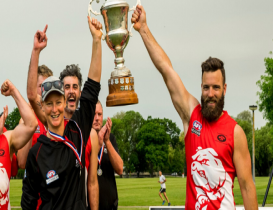 Bulldogs fight off the Cougars to win CAFL Premiership