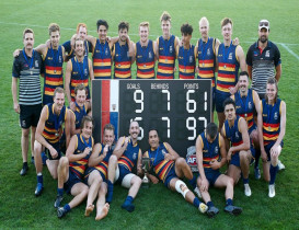 Western Crows fly high to win 2019 Premiership