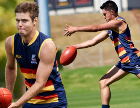 Young talent snapped up by the Crows