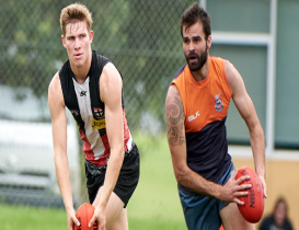 Joint winners: Donnell-Brown and Murray share 2021 Best and Fairest award