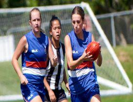 History maker: Bramwell claims first ever Women's Best and Fairest award