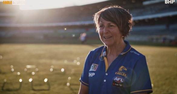 International AFL visionary receives Queens Birthday honours