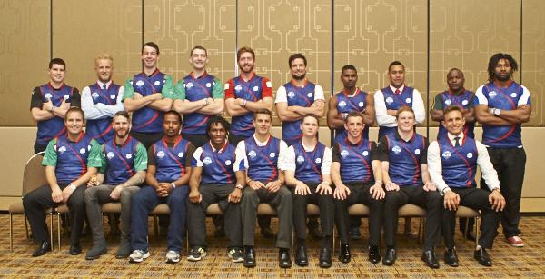 AFL IC14 World Team lineup photo