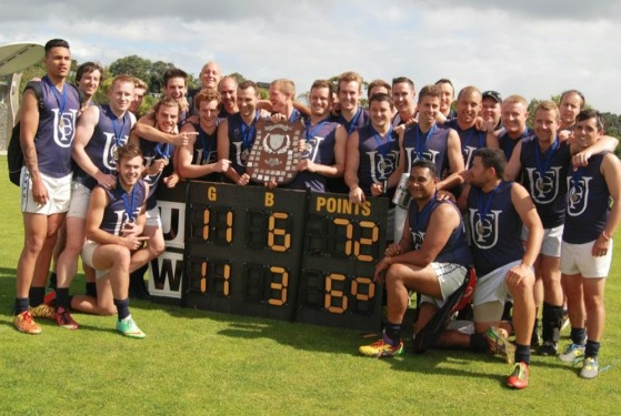 Uni Blues victory is theirs AAFL Grand Final Scott Wilson