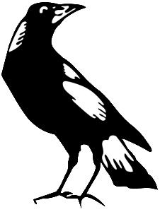 Magpies logo no collingwood