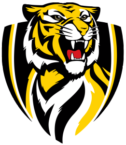 Richmond Tigers logo no text