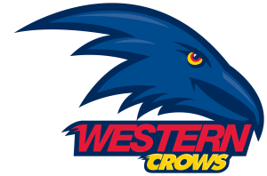 Western Crows - white border