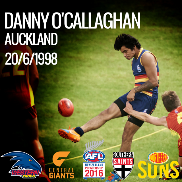 Danny O'Callaghan final profile