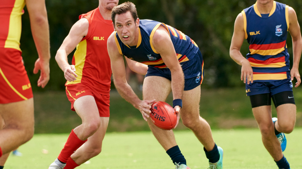 Western Crows Midfielder takes out 3km time trial