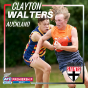 Clayton Walters 2017 Player Profile